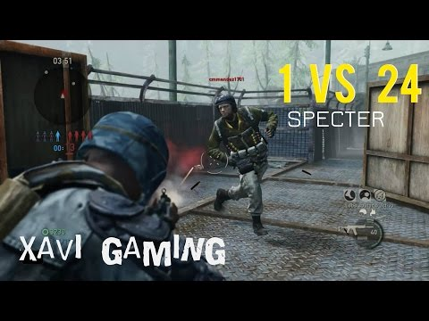 AMAZING 1 VS 24 Last Man Standing |Especter Only| The Last Of Us Multiplayer| 400subs