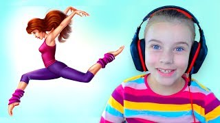 ИСТОРИИ ИЗ ШКОЛЫ ТАНЦЕВ Детская Игра - Видео для Девочек про Школу. Танцевальные Купальники