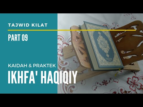 Tajwid Kilat Part 09 Ikhfa Haqiqi Youtube