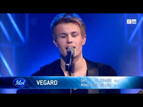 Idol 2011 finale -Vegard leite - What Are Words.