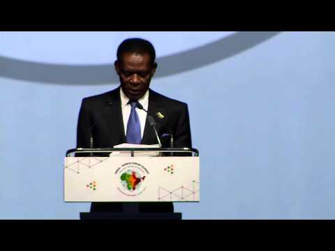 Opening Statement by H. E. Mr. Obiang Nguema Mbasogo, President of the Republic of Equatorial Guinea