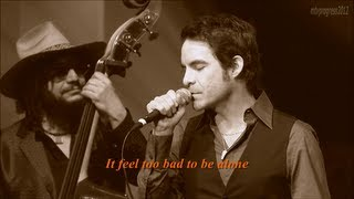 Pat Monahan - Help Me Make It Through The Night ( lyrics ) [ live 2012 ]