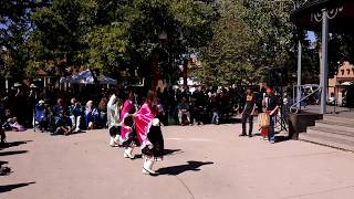 INDIGENOUS PEOPLES DAY 2019 - SANTA FE, NM  - Ohkay Owingeh Women Bow & Arrow Dance