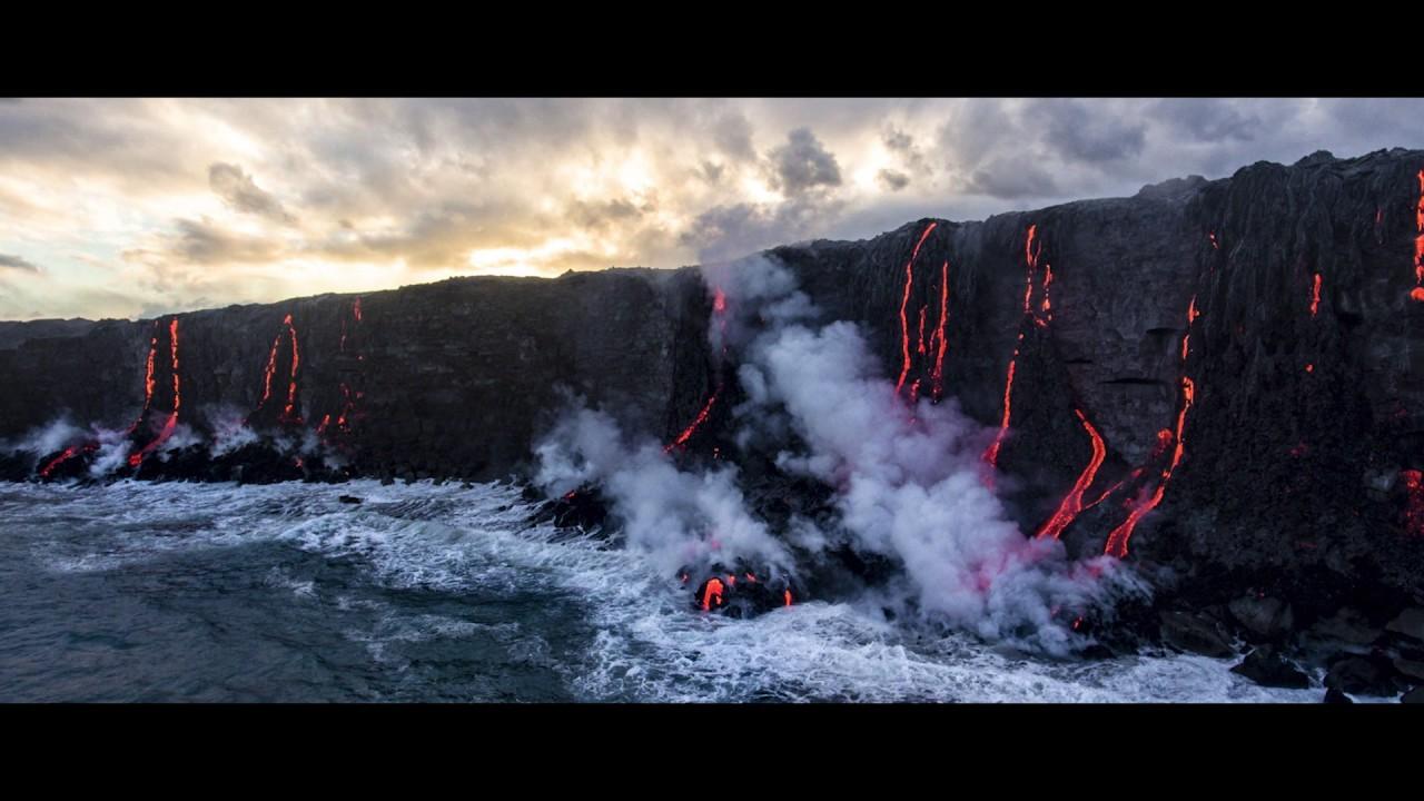 7a90e524ce DJI GÇô Phantom 4 Pro Hawaiian Lava ProRes 1080P - YouTube