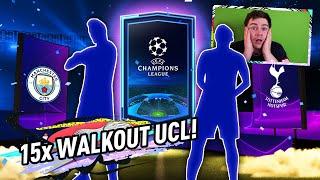 15x WALKOUT UEFA CHAMPIONS LEAGUE! REKORD?!