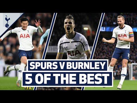Son, Lamela & Kane's best goals EVER? SPURS V BURNLEY | 5 OF THE BEST