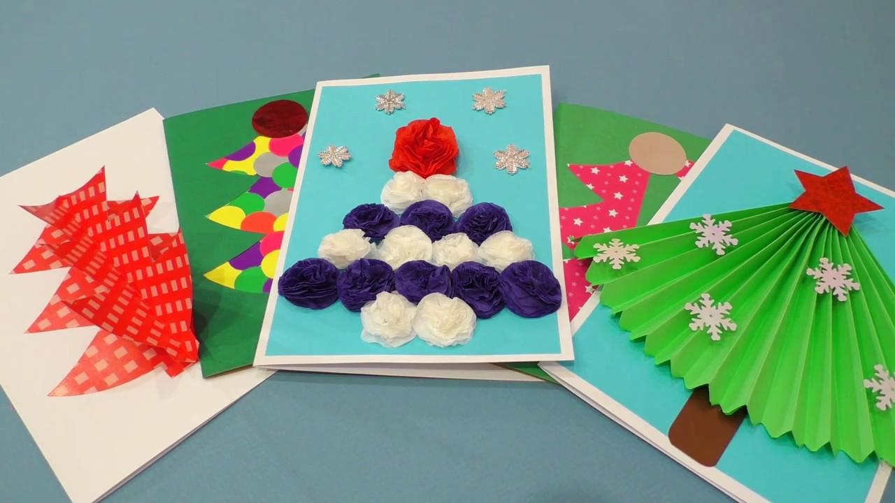 Как сделать новогодние открытки своими руками фото фото 995
