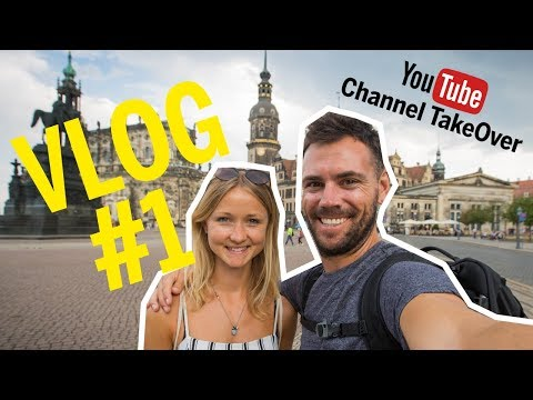 WE START THE DRESDEN ADVENTURE - VLOG#1 // Greg&Nellie Channel TakeOver
