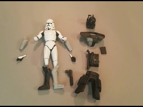 "ARC TROOPER RESIN KITS - ""THE CLONE WARS"" CLONE TROOPER ""ECHO"" BUILD"