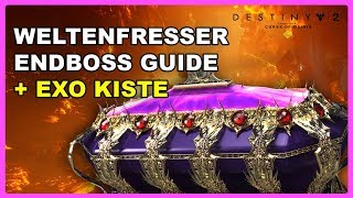 Destiny 2 - Raid Endboss Argos Guide + EXO KISTE ► Deutsch/German