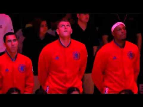 La NBA a rendu hommage aux victimes et à la France en observant une minute de silence et en jouant la Marseillaise