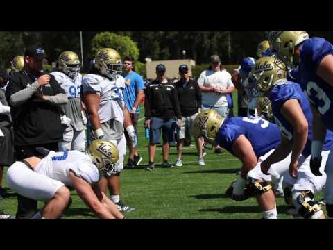 Bruins Nation Video: UCLA OL-DL One-on-One