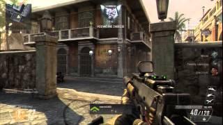 Call Of Duty : Black Ops 2 - Pierwsze Wrażenia - TDM Slums MP7 PS3 Komentarz PL HD