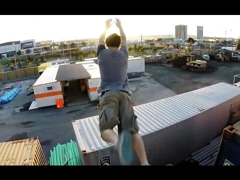 Epic Parkour Fails Extreme Funny