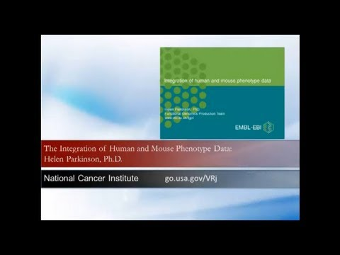 The Integration of Human and Mouse Phenotype Data: Dr. Helen Parkinson