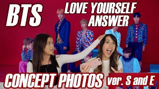 BTS 방탄소년단 LOVE YOURSELF 結 'Answer' Concept Photo S and E ver. REACTION