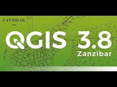 QGIS 3.8.2(Zanzibar) Download and Install
