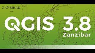 Gambar cover QGIS 3.8.2(Zanzibar) Download and Install