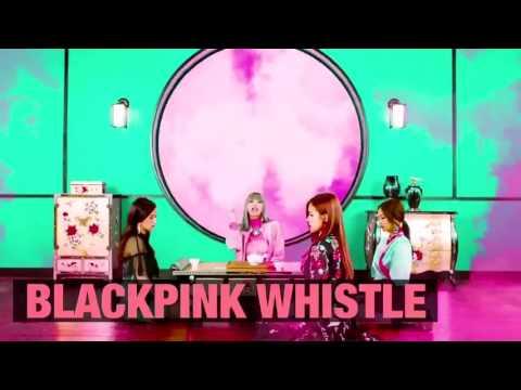 BLACKPINK WHISTLE Japanese ver : Lisa Rap in English