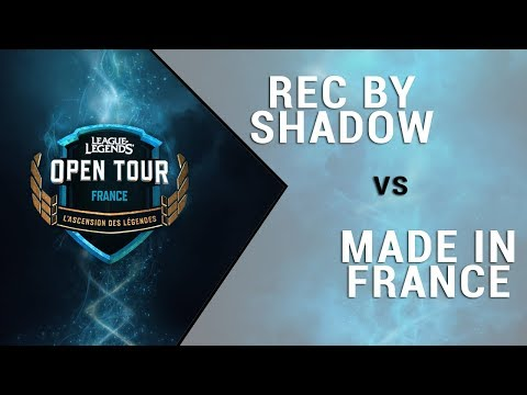 Open Tour France - Rec By Shadow Vs Made In France - Groupe E