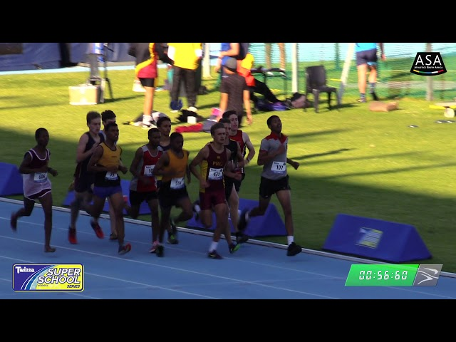 Final Boys u19 800m - 2019 Twizza SuperSchoolSeries Greenpoint