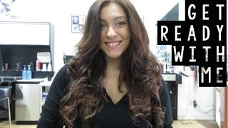 How to Clip In 200 grams of Hair Extensions - Get Ready with Me! | Instant Beauty ♡