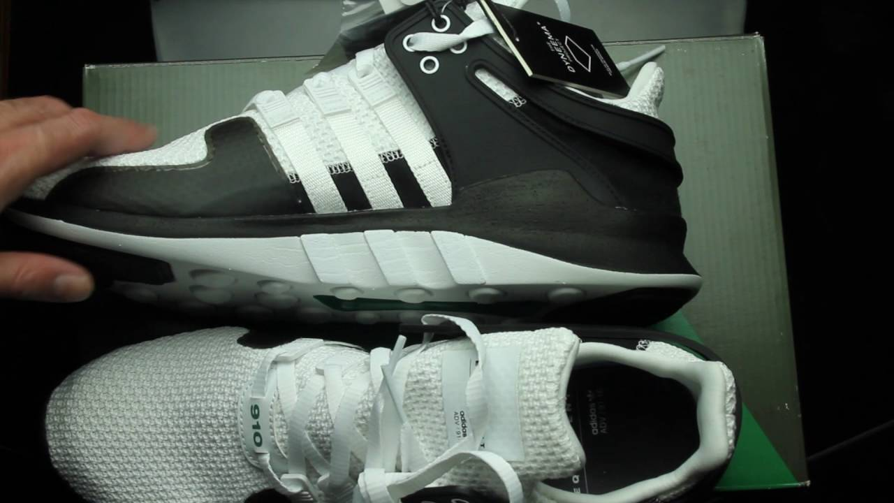 low priced 735df 811a9 unboxing asmr  adidas eqt adv 91-16 support 910  bb5919 - Yo