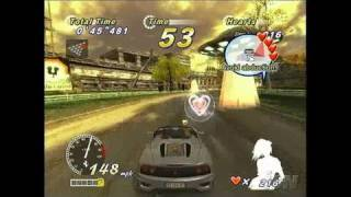 OutRun 2006: Coast 2 Coast PlayStation 2 Gameplay -
