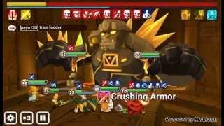 summoners war giants b8 auto run with ft fire viking