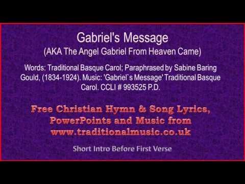Gabriel's Message - Christmas Carols Lyrics & Music