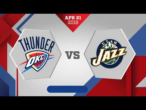 Oklahoma City Thunder vs. Utah Jazz Game 3: April 22, 2018