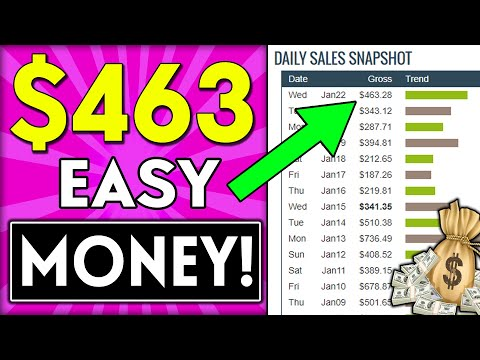 EARN $463.28 DAILY!: How To Start AFFILIATE MARKETING 2020 & Get Your First Sale! thumbnail