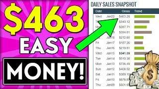 EARN $463.28 DAILY!: How To Start AFFILIATE MARKETING 2020 & Get Your First Sale!