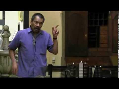 Presentation by professor Maurice Jackson of Georgetown University.
