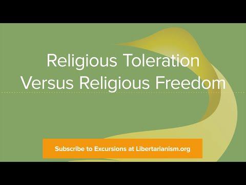 Excursions, Ep. 1: Religious Toleration Versus Religious Freedom