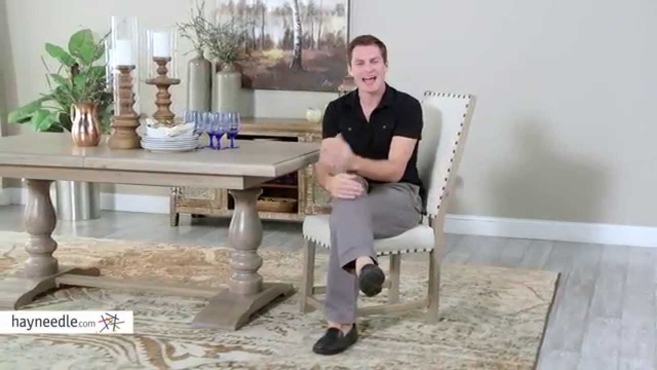 Charmant Belham Living Asher Nailhead Parsons Dining Chair   Set Of 2   Product  Review Video   YouTube