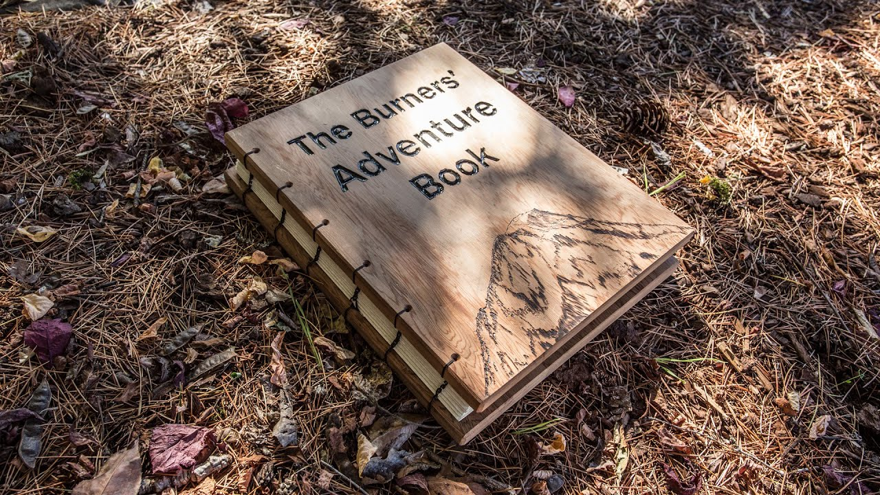 How to make the book for a scrapbook - How To Make A Scrapbook An Up Inspired Wood Adventure Book