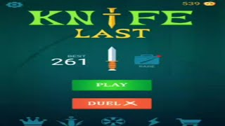 How to play Knife Last messenger online game|| Best way to play and increase scores