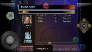 NBA jam 2000 Gameplay