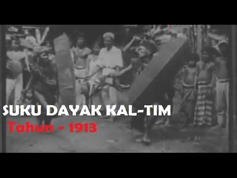 Gambaran Suku Dayak Kalimantan Timur Th-1913