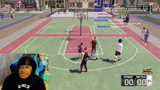 SoLLUMINATI Gets Shocked After Getting Carried By FlightReacts In NBA 2K19 Park
