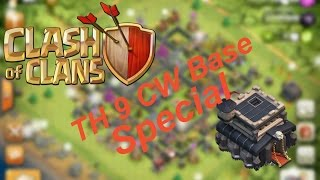 "COC ""Top 3 RH9 / TH9 CW Base with 4 mortar"" 