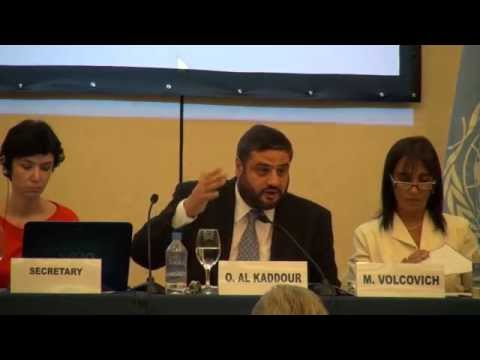 UN Intl. Meeting on the Question of Palestine - Mr. Omar Al Kaddour
