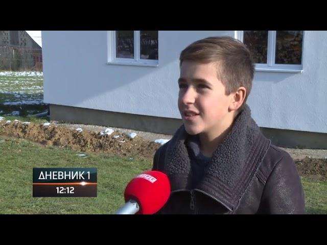 Srbi za Srbe poklonili kuću za porodicu Gačić kod Novog Grada (prilog RTRS)