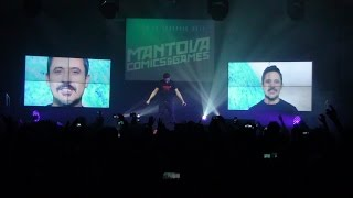 Giorgio Vanni Dragon Ball Super live Mantova Comics & Games 2017