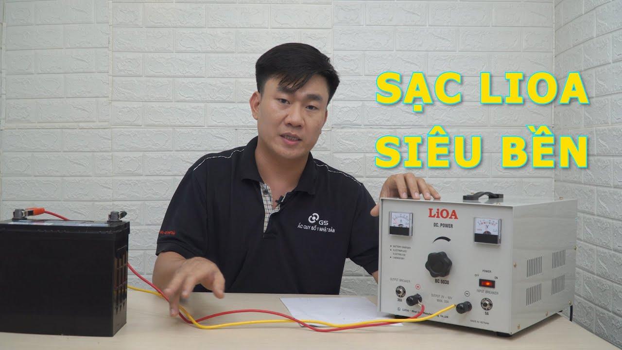 SẠC ẮC QUY LIOA BC5030 (0V-50V - 30A