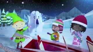Zack et Quack | Le traîneau du Père Noël | NICKELODEON JUNIOR