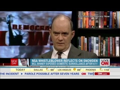 NSA whistleblower talks Snowden