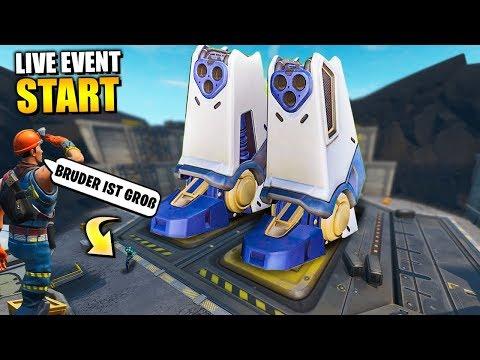 *NEU* Roboter Live Event BEGINNT 🤖 Der COUNTDOWN Läuft   Fortnite Pressure Plant Deutsch