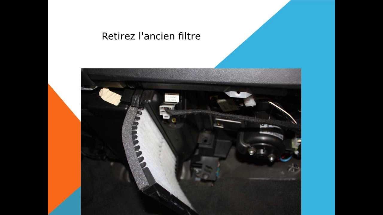 Changement De Filtre D Habitacle Sur Volvo S40 Et V40 Youtube
